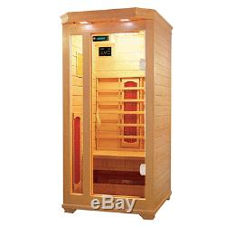 1 (one) Person Indoor Infrared Sauna With Ceramic Heaters And Free Delivery