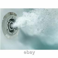 10 Jet Japanese Deep Soaking Whirlpool Jacuzzi Bath LED Lighting 1200 x 1100mm