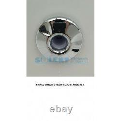 12 JET TROJAN SINGLE ENDED WHIRLPOOL SPA BATH- 1800x800mm