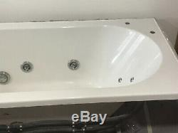 12 Jet Whirlpool Acrylic Bath 1700 x 750