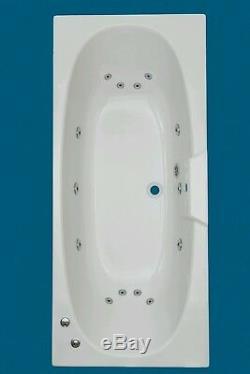 14 CHROME JET TROJAN ALGARVE D/E WHIRLPOOL -SPA-BATH -1800 x 800mm