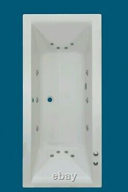 14 JET TROJAN ELITE 1700 x 750 WHIRLPOOL SPA BATH DOUBLE ENDED