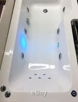 1500, 1600 or 1700mm Whirlpool jacuzzi Acrylic Spa Bath with Whirlpool & Ligh
