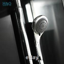 1500mm Luxury Steam Corner Shower Cabin Enclosure Whirlpool System Jacuzzis Bath