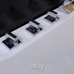 1500mm Luxury Whirlpool Shower Bath Jacuzzis Bathtub With 15 Massage Jet HAMBURG