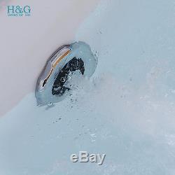 1700 Whirlpool Shower Spa Jacuzzis Massage Corner 2 person Double Bathtub 6180M