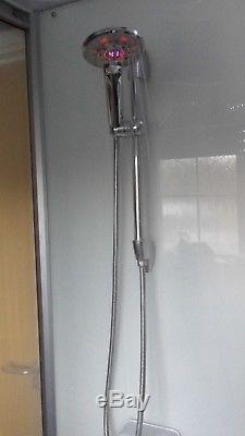 1700mm Whirlpool Shower SPA Bath Jacuzzis Massage Rectangle Bathtub 170SW