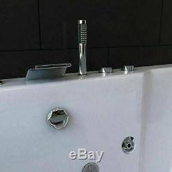 2019 Modern Spa Jacuzzi Straight Whirlpool Bath 2 person Double Ended Bathtub