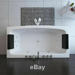 2019 Modern Whirlpool Bathtub 12 SPA Massage Jets Straight 2 person Double End