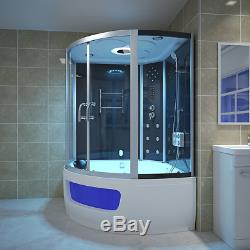 2019 New Steam Corner Bath whirlpool Jacuzzis Cabin Cubicle Enclosure Family Use