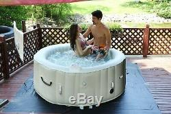 2020 NEW VERSION Inflatable Bubble Jacuzzi Spa Portable ROUND Hot Tub