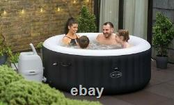 2021 Lay Z Spa Miami Black 4 People Hot Tub Jacuzzi BRAND NEW (Top Of The Range)