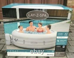 2021 Lay Z Spa Vegas 6 Person Hot Tub Jacuzzi like Rio Hawaii Honolulu Milan etc