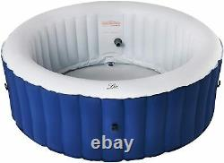 2021 MSpa Lite 4-Person (2+2) Inflatable Hot Tub Jacuzzi Bubble Spa Round