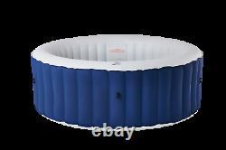2021 Mspa Lite Round 4 Bathers Portable Inflatable Hot Tub Spa Jacuzzi Bubble UK