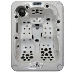 3 Person Whirlpool Bath Hot Tub Jacuzzi LED Light Computer Control Bathtub SPA