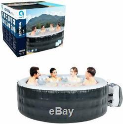 4 6 Person Avenli Rotorua Spa Jacuzzi Hot Tub Inflatable Garden Outdoor Patio