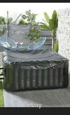 4 Person Inflatable Jacuzzi Hot Tub Spa Bubbles Square / Free Delivery