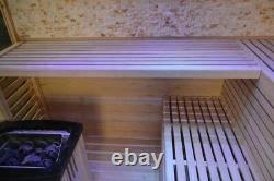 5-6 Hemlock traditional steam stove heater ozone sauna room
