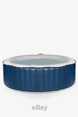 6 Person Portable Heated Hot Tub Jacuzzi Massage Spa Inflatable Square Pool Bath