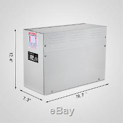 6KW Steam Generator Sauna Bath Home SPA Shower Steam Room Controller 220V