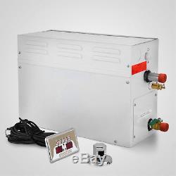 9kw Steam Generator Shower Auto-controller Sauna Bath Home Spa 220v