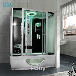 A1350 Steam Shower Bath No Whirlpool Jacuzzi Corner Cabin Cubicle Enclosure Room