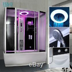 A1500SW Steam Shower Whirlpool Jacuzzi Bath Corner Cabin Cubicle Enclosure  Room