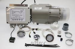 Airbath Control, Blower Replacement Kit & Chromotherapy