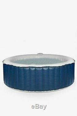 Aqua Spa 6 Seater Round Hot Tub Bubble Jacuzzi Summer Garden + Cover 1000L NEW