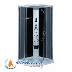 BOX DOCCIA CABINA BAGNO IDROMASSAGGIO CL77 Misura 90x90x215
