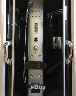 BOX DOCCIA IDROMASSAGGIO CROMOTERAPIA 90 X 90 Arredobagno CABINA DOCCIA New York
