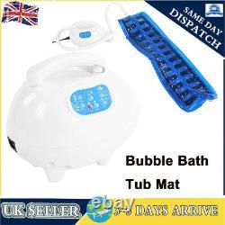Bath Bubble Jet Spa Bubble Jets Machine Tub Body Massage Mat Waterproof Relaxing