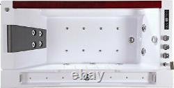Bath Tub Bath Hydro Massage Whirlpool 180x90 Spa Whirpool Disinfection Frame