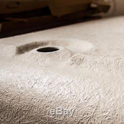 Bath Tub L Shape Left Side Edge Single Ended Bathroom Gloss White 1700x850