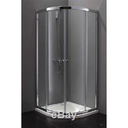 Box circolare cabina doccia circolare vetro 5 mm trasparente