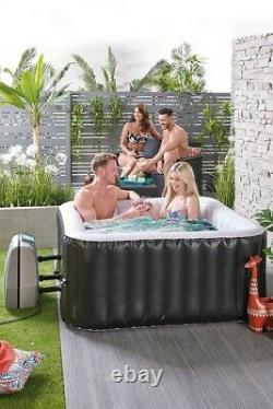 Brand New 4 Person Square Hot Tub Spa Jacuzzi Immediate Express Delivery