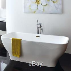 Caspian Luxury Free Standing Acrylic Bath 1700mm(L) x 700mm(W) x 570mm(H)