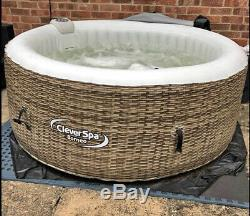 Clever Spa Borneo hot tub 4 person Jacuzzi! Like Lay Z Spa. Lazy
