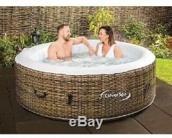 Clever Spa Cleverspa Borneo hot tub 4 person Jacuzzi! Brand New! See Description