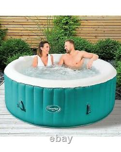 CleverSpa hot tub 4 PERSON INFLATABLE sauna pool garden outdoor vegas jacuzzi UK
