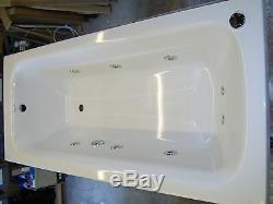 DIVA 1675 x 700 Bath with 8 Jet Whirlpool System