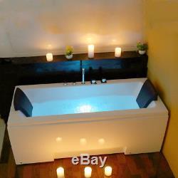 Designer Strairht Bath Whirlpool Choice Double End Rectangle Acrylic Bathtub 170