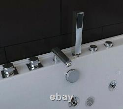 Double Ended Whirlpool Bathtub with 4 Jets 1800 mm x 900 mm