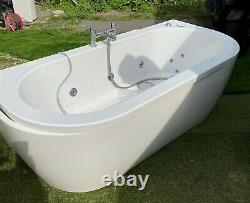 Double end spa Whirpool Wellness bath jacuzzi 1700mm x 80mm with fittings