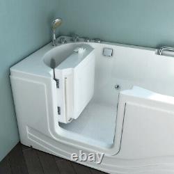 HOME DELUXE Seniorenbadewanne Vital M (liegend) Sitzbadewanne Wanne Whirlpool