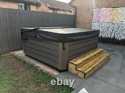 Handmade wooden Hot Tub Steps any size available to order. Jacuzzi & spa