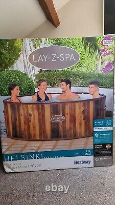Helsinki Lay-Z-Spa Hot Tub Jacuzzi 2021 Model