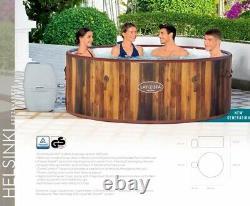 Helsinki Lay-Z-Spa Hot Tub Jacuzzi Inflatable Spa Bestway 2021 New Pump Model