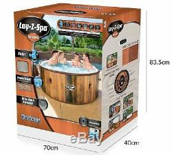 Helsinki Lay-Z-Spa Hot Tub Jacuzzi Inflatable Spa Brand New Design Bestway